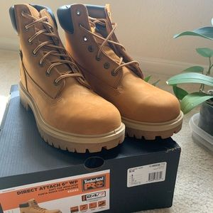 New Timberland PRO Direct attach mens Boots!